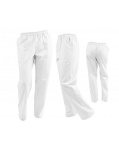 Pantaloni Unisex Albi