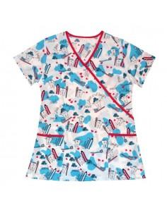 Bluza Y cu imprimeu Smile